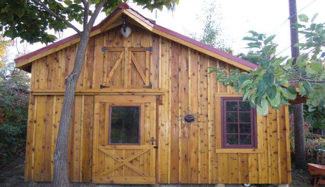 Cedar Shed Projects Ogden Utah Rustic Lumber Co