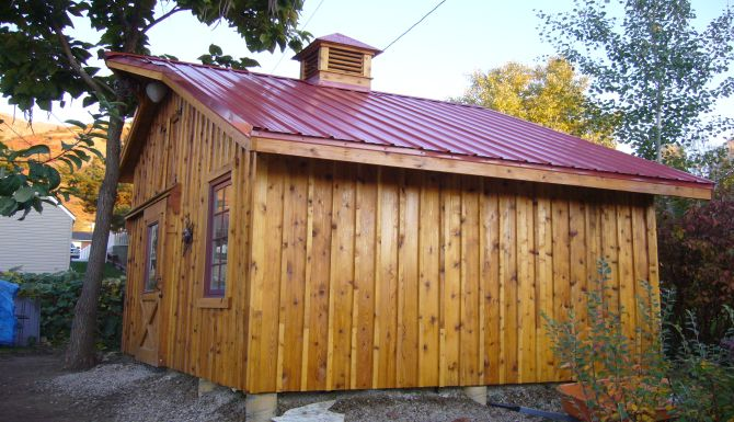 Cedar Shed Projects Ogden Utah Rustic Lumber Co