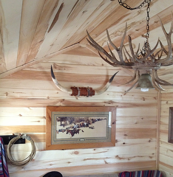 Inject Warmth Into Your Home With Reclaimed Wood Wall: Rustic T&G Aspen Products