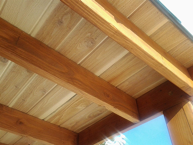 T g cedar products rustic lumber co for T g roof decking
