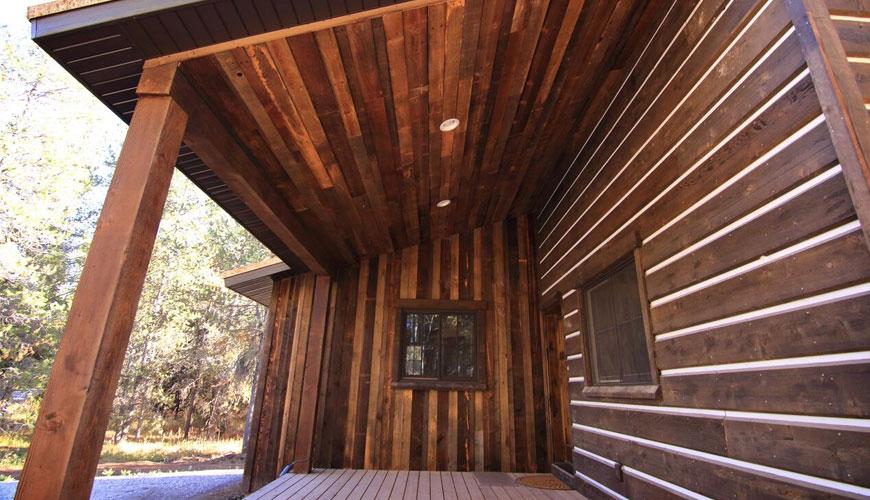 Jasper wood wall