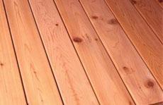 Westerm Red Cedar decking