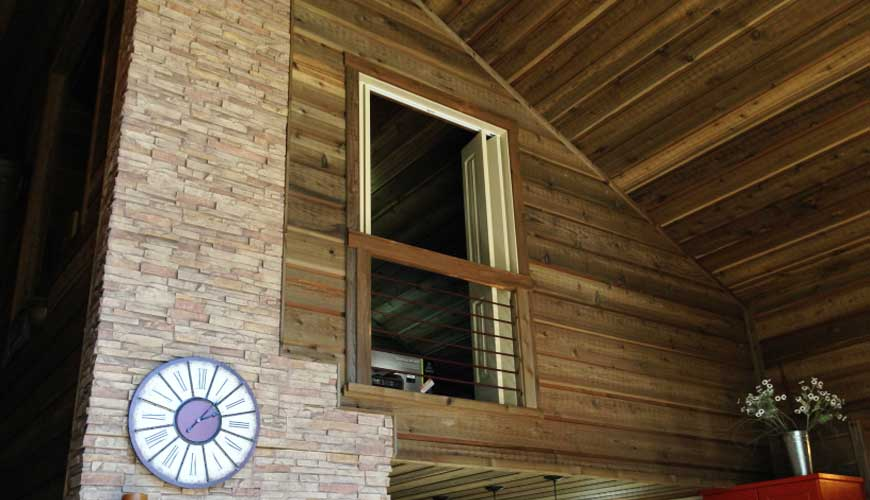Channel Rustic Wood Siding: Exterior Projects: Channel Rustic Siding