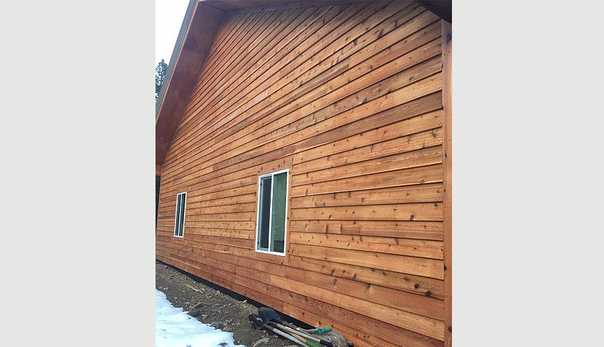 Bevel Cedar Siding Rustic Lumber Co