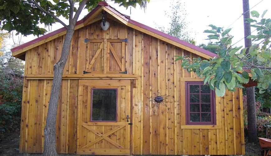 Board batten rustic lumber co for Best wood for board and batten siding