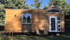 cedar t&g tiny house