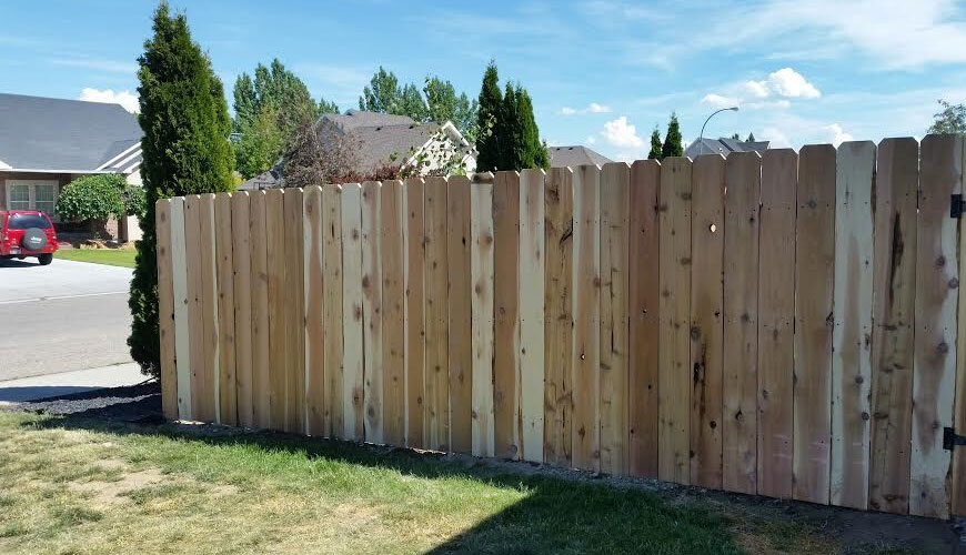 7 8 Quot Thick Fencing Slats Rustic Lumber Co